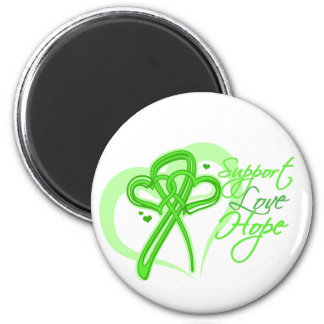 Support Love Hope - Non-Hodgkin's Lymphoma 6 Cm Round Magnet