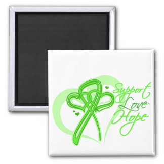 Support Love Hope - Non-Hodgkin's Lymphoma Square Magnet