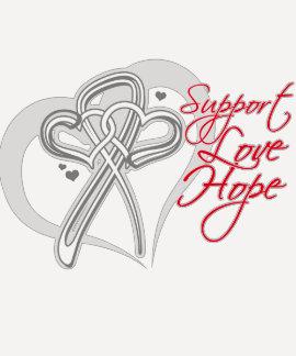 Support Love Hope - Retinoblastoma Cancer Shirts