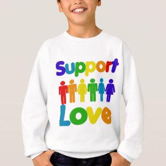 Support Love Sweatshirt