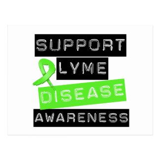 Support Lyme Disease Awareness Postcard