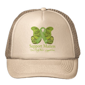 Support Matters - Butterfly NonHodgkins Lymphoma Hat