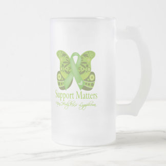 Support Matters - Butterfly NonHodgkins Lymphoma Coffee Mugs