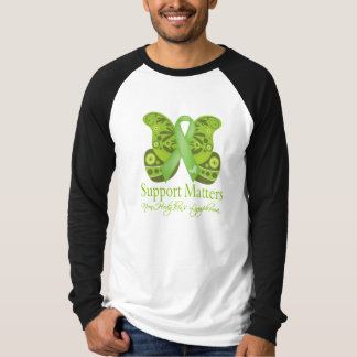 Support Matters - Butterfly NonHodgkins Lymphoma T-shirts