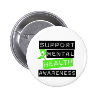 Support Mental Health Awareness 6 Cm Round Badge