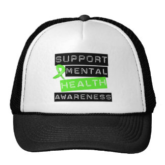 Support Mental Health Awareness Trucker Hat