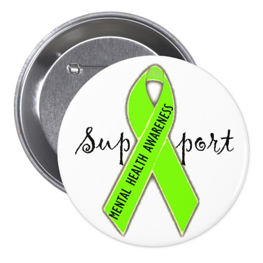 Support Mental Health Awareness/ DivaLime Buttons