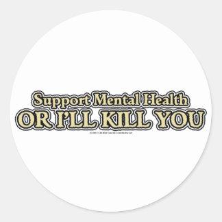 Support Mental Health Sticker