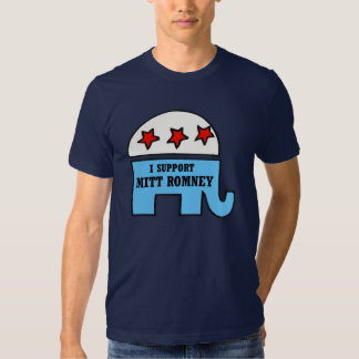 Support Mitt Romney for President T-Shirt