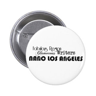 Support NaNo Los Angeles 6 Cm Round Badge