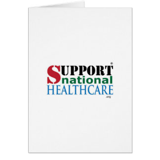 Support National HealthCare Products Greeting Card