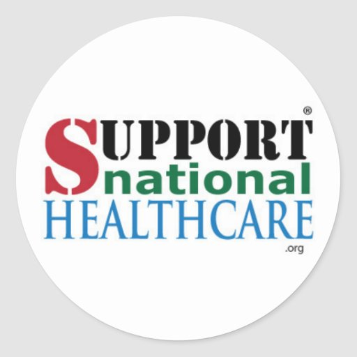 Support National HealthCare Products Sticker