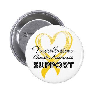 Support Neuroblastoma Cancer Awareness Button