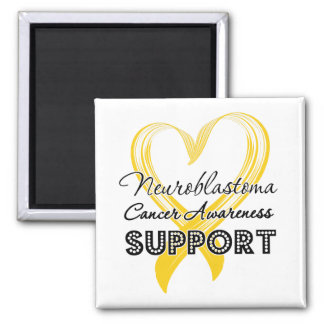 Support Neuroblastoma Cancer Awareness Fridge Magnet