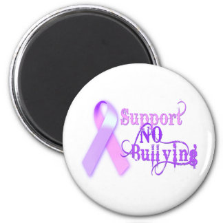 Support No Bullying Refrigerator Magnet