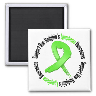 Support Non Hodgkins Lymphoma Awareness Square Magnet