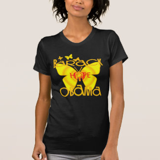Support Obama Butterfly T-shirt