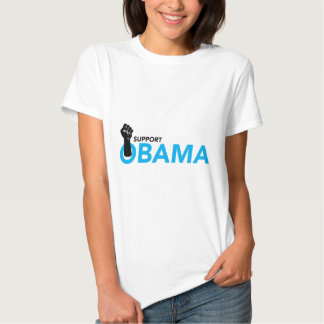 SUPPORT OBAMA T-SHIRTS