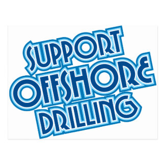Support Offshore Drilling Post Card