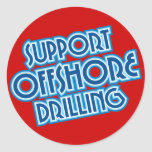 Support Offshore Drilling Stickers