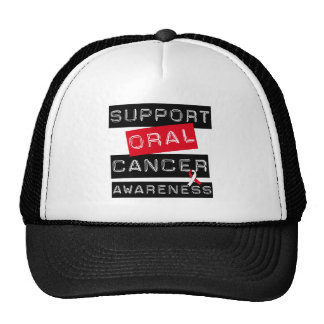 Support Oral Cancer Awareness Trucker Hat