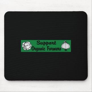 Support Organics Mouse Pad