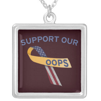 Support Our Oops Pendants