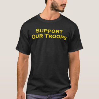 Support Our Troops, 9/11 Memorial, Marine Version T-Shirt