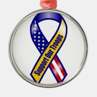Support-Our-Troops Christmas Ornament