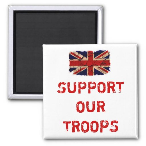 Support Our Troops Refrigerator Magnet