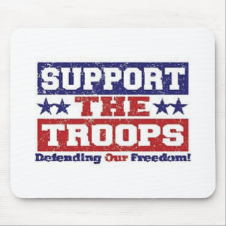 Support our Troops Mouse Mat