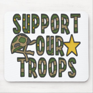 Support Our Troops Mousepads