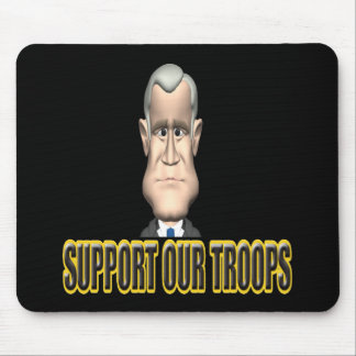 Support Our Troops Mousemat