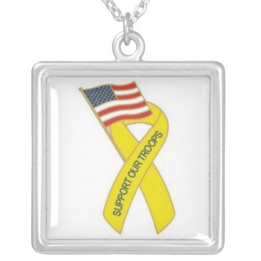 Support our Troops Pendant