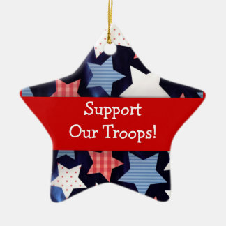 Support Our Troops Ornament
