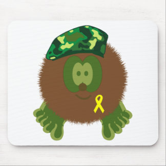 Support Our Troops Pom Pom Pal Mousepad