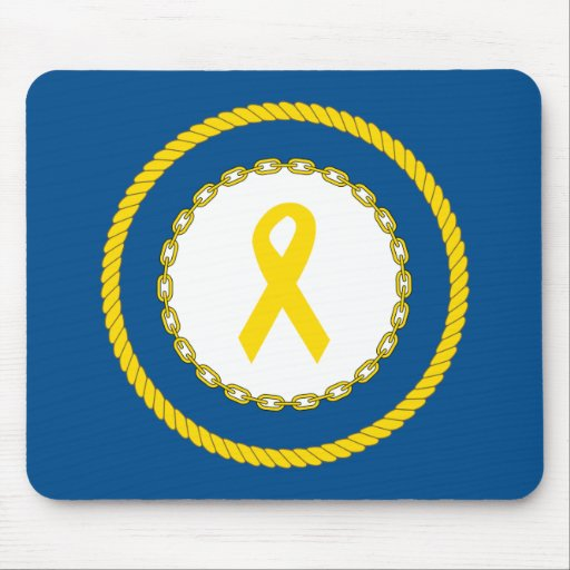 Support Our Troops Ribbon Mousepad
