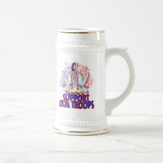 """""""Support Our Troops"""" Stein Or Mug"""