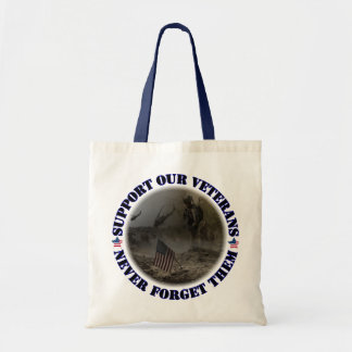 Support our veteran… the USA Tote Bag