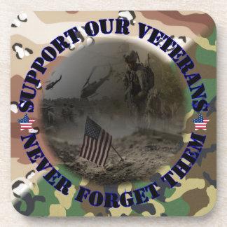 Support our Veterans USA Drink Untersetzer
