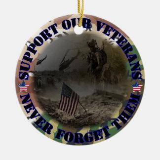 Support our Veterans USA Ornamente