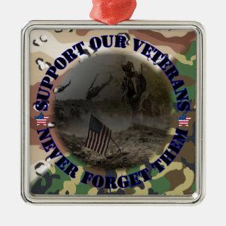 Support our Veterans USA Weihnachtsbaum Ornamente