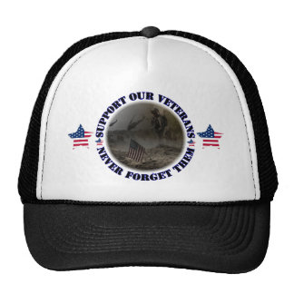 Support our Veterans USA Caps