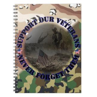 Support our Veterans USA Notizbuch