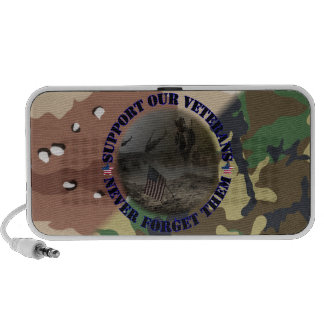 Support our Veterans USA Notebook Speaker