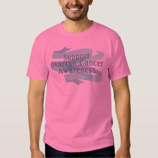 SUPPORT OVARIAN CANCER AWARENESS T SHIRT