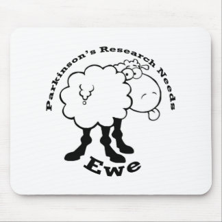 Support Parkinson's Research Mouse Pad