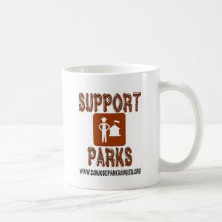 support parks san jose rangers coffee mug