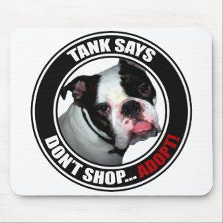 Support Pet Adoption Don t Shop Adopt Mousepad