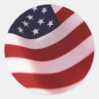 Support President Obama Round Sticker